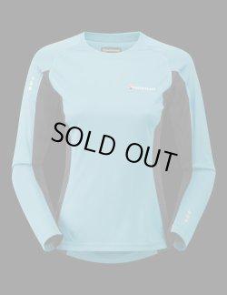 画像1: モンテイン  ソニックロングスリーブTシャツ MONTANE  SONIC LONG SLEEVE T-SHIRT 【マヤストームブルー/Maya storm blue】 【WOMEN】